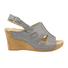 Grey Gregors 533 Sandali grigio