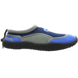 Aqua-Speed Jr. scarpe da spiaggia in neoprene blu navy