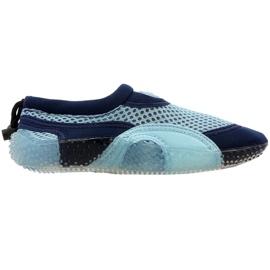 Scarpe da spiaggia in neoprene Aqua-Speed Jr blu