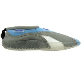 Aqua-Speed Jr. scarpe da spiaggia in neoprene grigio