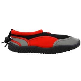 Scarpe da spiaggia in neoprene rosso Aqua-Speed Jr