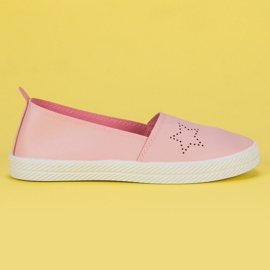 Kylie Sneakers senza lacci rosa
