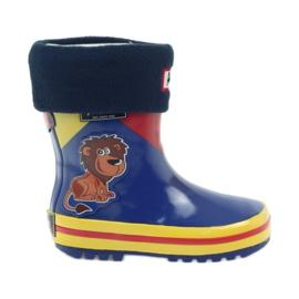 American Club Soletta interna per calzini bambini in gomma americana