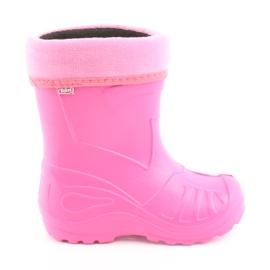 Scarpe per bambini Befado kalosz-róż 162Y101 rosa