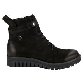 Stivali neri di VINCEZA Workers nero