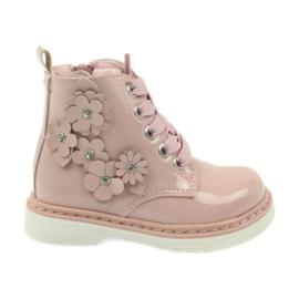 American Club rosa Stivaletti americani stivali per bambini 1424