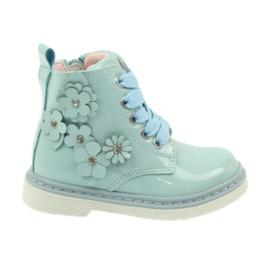 American Club blu Stivaletti americani stivali per bambini 1424