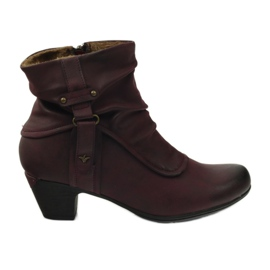 Stivali marrone super confortevole Aloeloe
