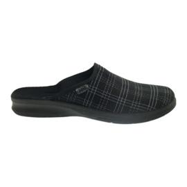 Nero Pantofole da uomo Befado pantofole 548m011