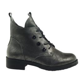 Stivali con borchie Sergio Leone 308 grigio