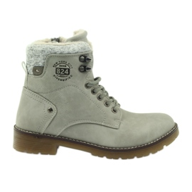 Scarpe grigie, incollate DK2025 grigio