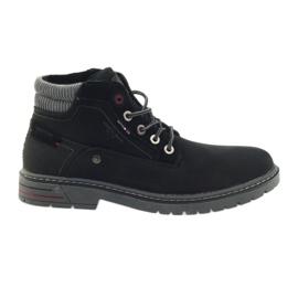 American Club nero Pattinatori americani scarpe da trekking invernale
