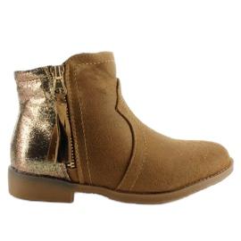 Marrone Stivali junk boots K1647301 Cammello