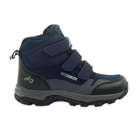 Mttrek Stivaletti con velcro MT TREK 012 blu scuro