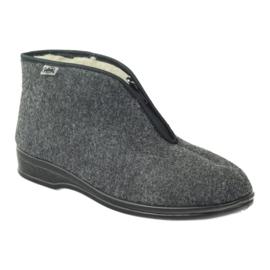 Grigio Pantofole calde da uomo Befado 100M047
