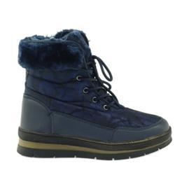 Sport Snow Boots On Fur DK marina