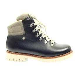 Marrone Stivali di sicurezza per stivali di legno Bartek