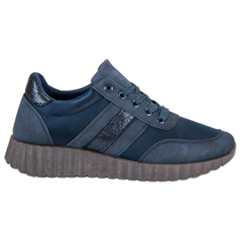 Kylie Sneakers di moda blu scuro