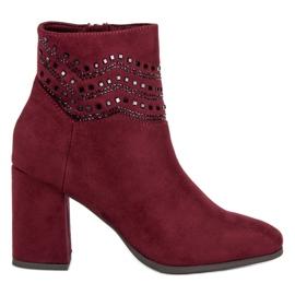 Kylie Eleganti stivali bordeaux
