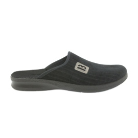 Nero Pantofole da uomo Befado 548m015 nere