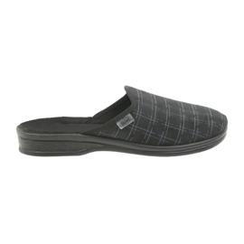 Nero Pantofole da uomo Befado 089M408 nere