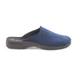 Inblu marina Pantofole da uomo blu scuro