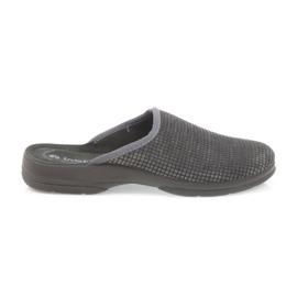 Inblu grigio Pantofole da uomo ciabatte grigie