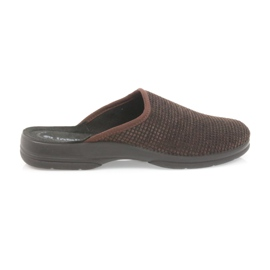 Inblu marrone Pantofole da uomo pantofole marroni