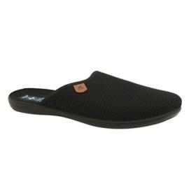 Nero Pantofole Pantofole Adanex 21115