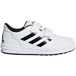 Bianco Scarpe Adidas AltaSport Cf Jr D96830