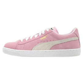 Rosa Scarpe Puma Suede Pink Lady Jr 3551103 01