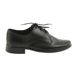 Miko scarpe scarpe da bambino ragazzi comunione nero