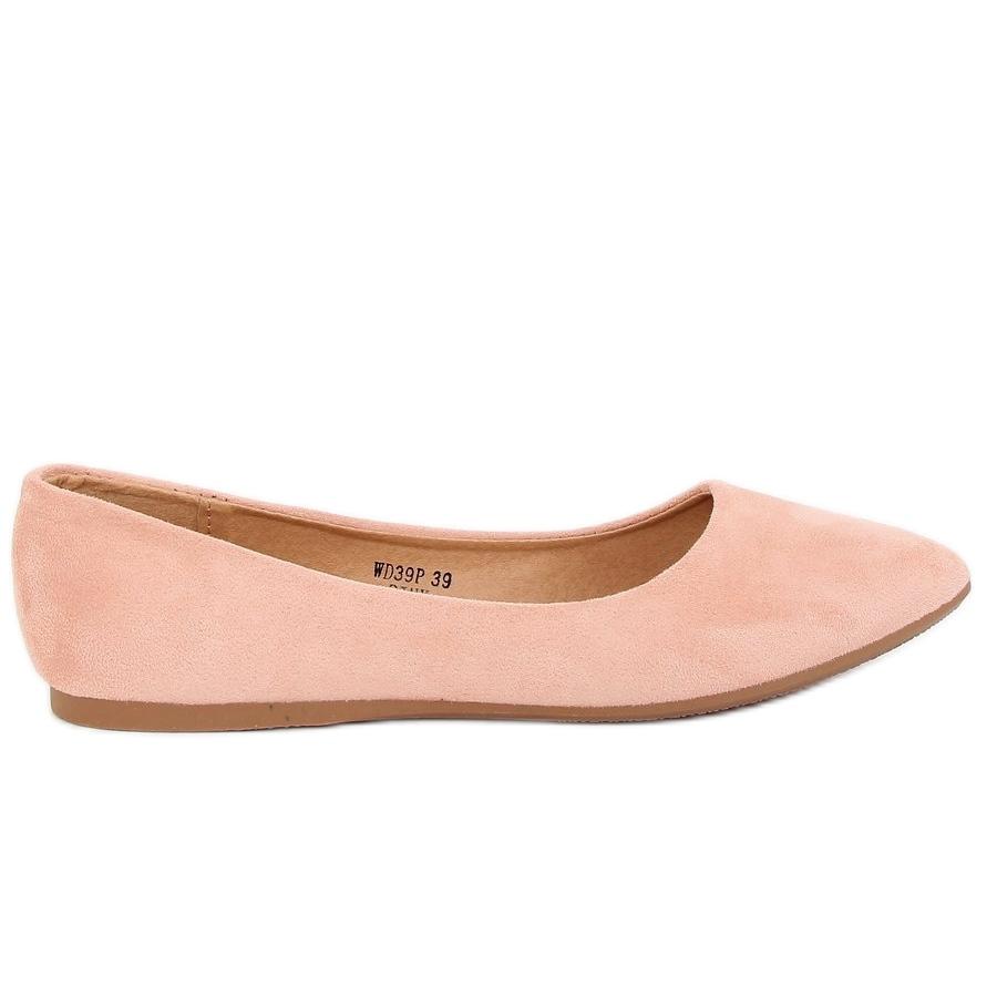 b31672003a Ballerina di mandorla rosa dita dei piedi WD39P Rosa