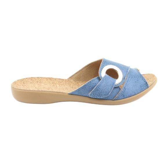 Befado scarpe da donna pu 265D015 blu