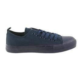 Scarpe da ginnastica uomo con scarpe blu American Club LH05 marina