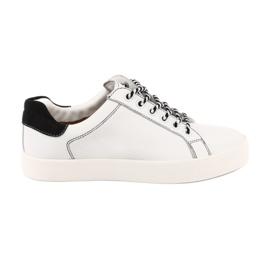 Sneakers da donna bianche Caprice 23203 regolabili in larghezza