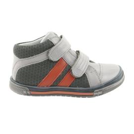 Ren But Boote scarpe Velcro stivali Ren Ma 3225 grigio / arancio