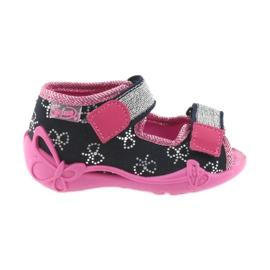 Pantofole Befado per bambini 242P089 blu navy