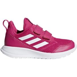 Rosa Scarpe Adidas AltaRun Cf K Jr CG6895