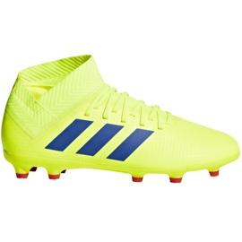 14e0a94ae9bbfa Scarpe da calcio adidas Nemeziz 19.3 Fg Jr F99951 - ButyModne.pl