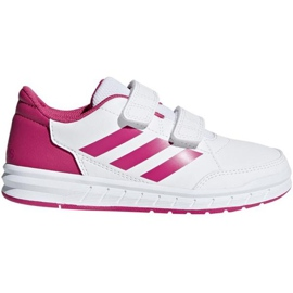 Bianco Scarpe Adidas AltaSport Cf K Jr D96828