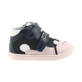 Stivali scarpe bambini Velcro coniglio Bartek 11702