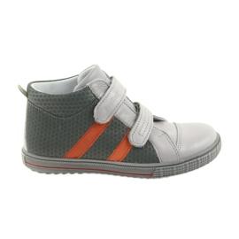 Ren But Boote scarpe per bambini Velcro stivali Ren 4275 grigio / arancio