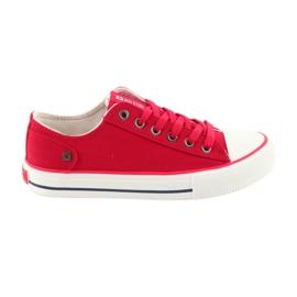 Big Star Le sneakers hanno legato la grande stella rossa 274339 rosso