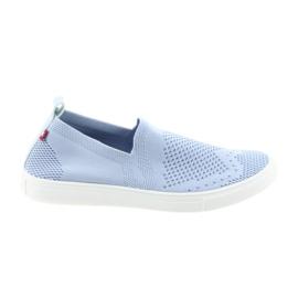 Sneakers slip on slipboard Big Star 274785 blu