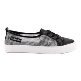 MCKEYLOR Mesh Sneakers nero