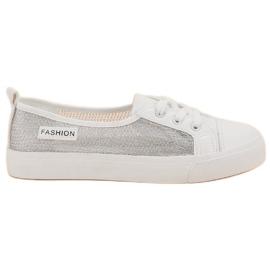 MCKEYLOR Mesh Sneakers bianco