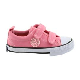 Scarpe da ginnastica americane rosa American Club LH50