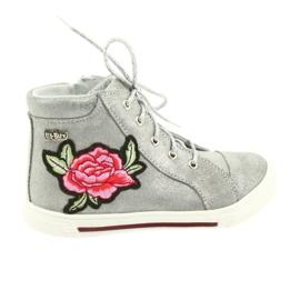 Ren But grigio Scarpe da scarpe da ragazza argento Ren Ma 3237