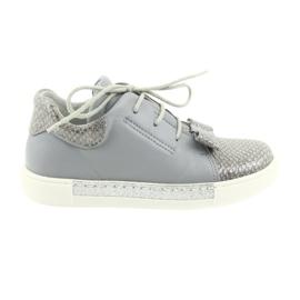Ren But Ren scarpe 3303 scarpe in pelle grigia grigio